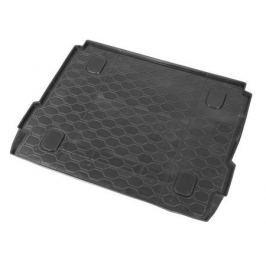 Коврик багажника (полиуретан), чёрный (c полкой) Rival 16007003 для LADA X Ray-