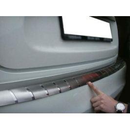 Накладка на задний бампер профилированная с загибом, нерж. сталь Alu-Frost 25-3656 для NISSAN Juke (2010 - по н.в.)
