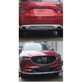 Защита переднего и заднего бампера для Mazda CX-5 2017 -