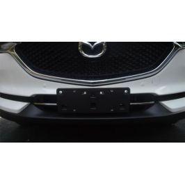 Хромированные накладки на нижнюю решетку радиатора для Mazda CX-5 2017 -