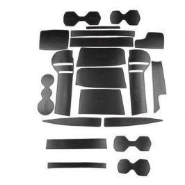 Коврики в салонные ниши (кожа) для Volkswagen Tiguan 2017-