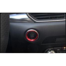 Стильная декоративная накладка на кнопку СТАРТ/СТОП для Mazda CX-5 2017 -