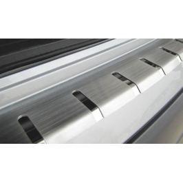 Накладка на задний бампер профилированная с загибом, нерж. сталь Alu-Frost 25-3674 для Mazda CX-5 (2015 - 2017)