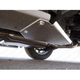 Защита левого бака (алюминий) 4 мм ТСС ZKTCC00127 для Mazda CX-5 (2015 - 2017)
