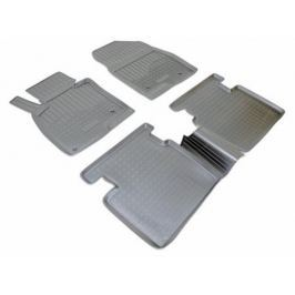 Коврики салона (полиуретан), чёрные Norplast NPA11-C55-150 для Mazda 6 (2012 - 2017)