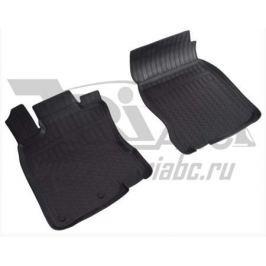 Коврики салона (полиуретан), чёрные (передние) (сборка Англия) Norplast NPA10-C61-604 для Nissan Qashqai 13-