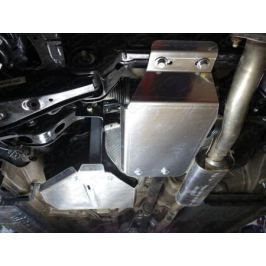 Защита заднего редуктора (алюминий) 4 мм TCC ZKTCC00173 для Hyundai Tucson (2015- по н.в. )