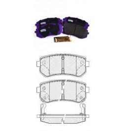 Тормозные колодки, передние и задние JNBK JAC S5 2013-