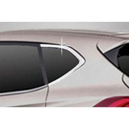 Хром накладки на задние окна, форточки Autoclover для Hyundai Tucson (2015- по н.в. )