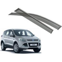 Дефлекторы боковых окон с хромированным молдингом, OEM Style OEM-Tuning 21993 для Ford Kuga 2017-