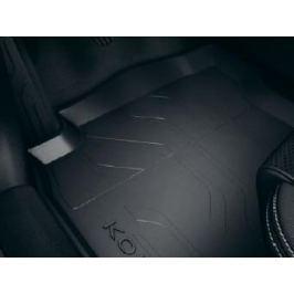 Резиновые коврики салона с бортами RENAULT 8201665641 для Renault Koleos 17 -