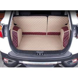 Кожаные коврики в багажник для JAC S5 2013 -