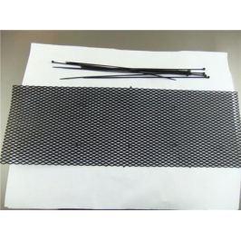 Сетка в бампер 120х20 черная