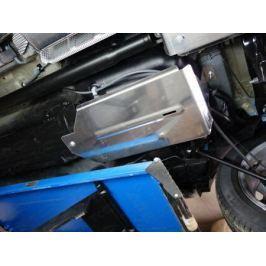 Защита бака (алюминий) ТСС для Renault Kaptur 2016 -