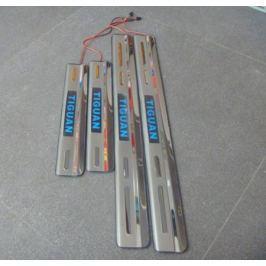 Накладки на пороги с подсветкой
