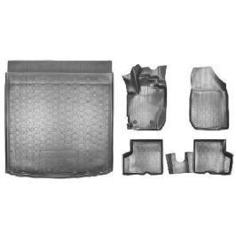 Промо-комплект 4x2, коврики в салон и в багажник для Renault Kaptur