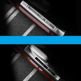 Накладки на пороги (внутренние) для Peugeot 3008 2017-