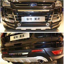 Накладки на бампера, обвес, Tuning Style №2 для Ford Kuga 2012 - 2016