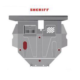 Алюминиевая защита двигателя, картера, КПП Sheriff 082626V2