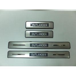 Накладки на дверные пороги с логотипом и LED подсветкой JMT 24373