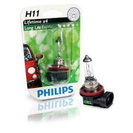 Лампы в ближний свет и противотуманные фары H11 PHILIPS