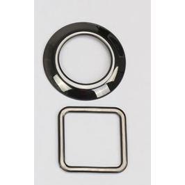 Декоративные черные глянцевые накладки на кнопку 4WD и на подогрев сидений Black Style