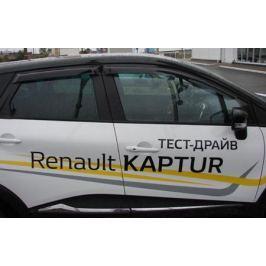 Дефлекторы боковых окон Sim для Renault Kaptur 2016