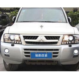 Альтернативная оптика, ксеноновые фары Guangzhou Chi Yun car lights для Pajero