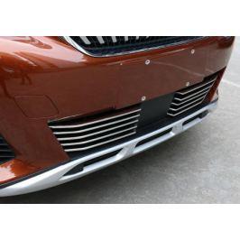 Хромированные накладки на радиаторную решетку XIANGHUI AUTO для PEUGEOT 3008 2017 -