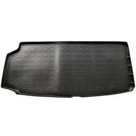 Коврик багажника (полиуретан), чёрный ( разложенный 3 ряд) Norplast NPA00-T96-780 для Volvo XC90 2015-