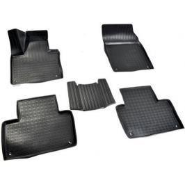 Коврики салона (полиуретан), чёрные (5 мест) Norplast NPA11-C96-780 для Volvo XC90 2015-