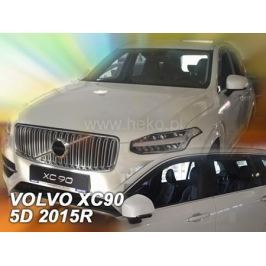Дефлекторы окон (вставные) HEKO 31240 для Volvo XC90 2015-