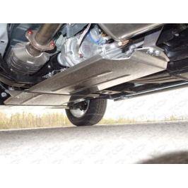 Защита раздатки (алюминий) 4 мм (не устанавливается без ZKTCC00051) ТСС ZKTCC00053 для Mitsubishi Pajero IV 2006-