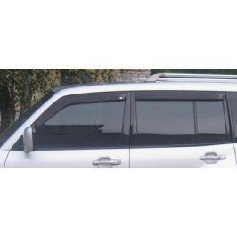 Дефлекторы боковых окон, 4 части, темные EGR 92460022B для Mitsubishi Pajero IV 2006-