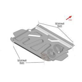 К-т защиты днища из 3-х частей, без защиты радиатора, V-3,0 (штамповка) (Сталь 1,8 мм) ALFeco ALF14.04;14.06;14.07st для Mitsubishi Pajero IV 2006-