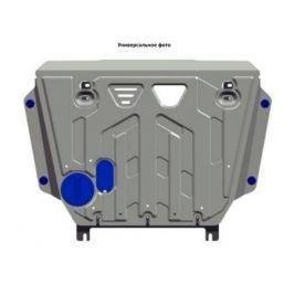 Защита КПП, алюминий (V - 3.0; 3.2; 3.8) Rival 333.4044.1 для Mitsubishi Pajero IV 2006-
