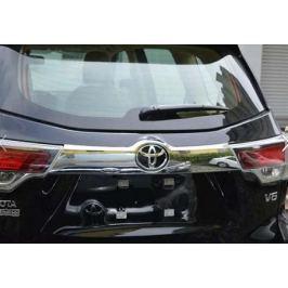 Накладка над номером на крышку багажника, ABS, хром. OEM-Tuning CNT17-15HLD-025 Toyota Highlander 2014 -