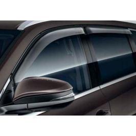 Дефлекторы боковых окон, 4 части. Цвет: бронза Toyota WD451-200ZC Toyota Highlander 2014 -