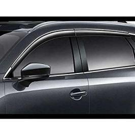 Дефлекторы окон (c хром полосой) TK78-V3-700 для Mazda CX-9 2017-