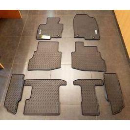 Коврики салона 2 и 3 ряда (резиновые) 00008BN35 для Mazda CX-9 2017-