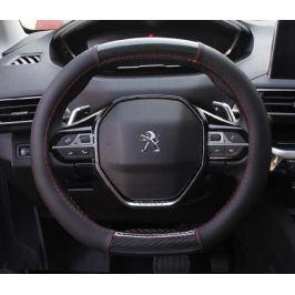 Оплетка руля с карбоновой вставкой для Peugeot 3008 2017-