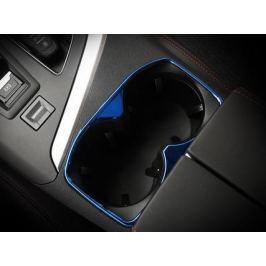 Хромированная окантовка на подстаканники для Peugeot 3008 2017-