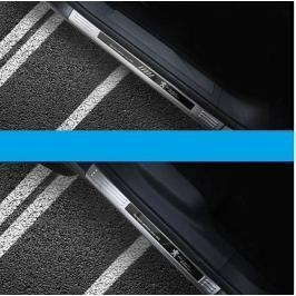 Накладки на пороги (внешние) для Peugeot 3008 2017-