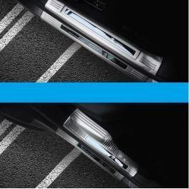 Накладки на пороги внешние + внутренние для Peugeot 3008 2017-