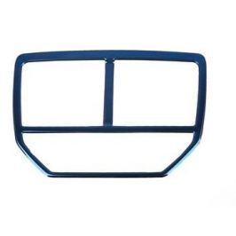 Декоративная окантовка на задние воздухозаборники (синий) для Peugeot 3008 2017-