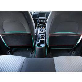 Кожаные накладки на заднюю поверхность передних сидений CHN для KIA Rio X-Line 2017 -