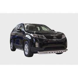 Защита переднего бампера с декоративными элементами Lexus LERX.45.1497 для LEXUS RX (2015 - по н.в)