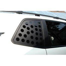Декоративные наклейки на форточки задних окон (карбон) KST-STAX-01 для KIA Stiger 2018 -