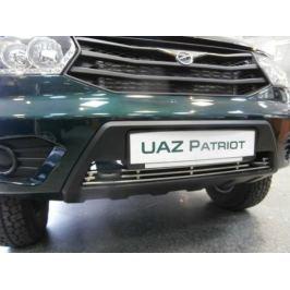 Накладка на решетку бампера Berkut-Auto UPAT.R12 для UAZ Patriot 2014 -