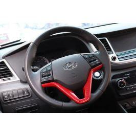 Накладка на руль (разные цвета) для Hyundai Tucson (2015- по н.в. )